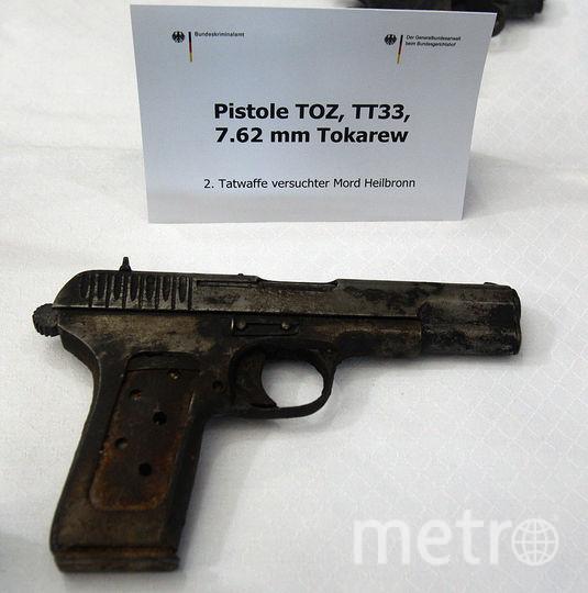Из подобного пистолета мог быть убит Чернов. Фото Getty