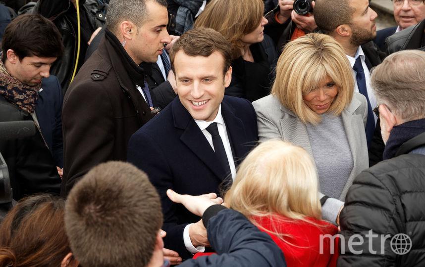 Сотни тысяч французов подписали петицию против жены Макрона. Фото Getty