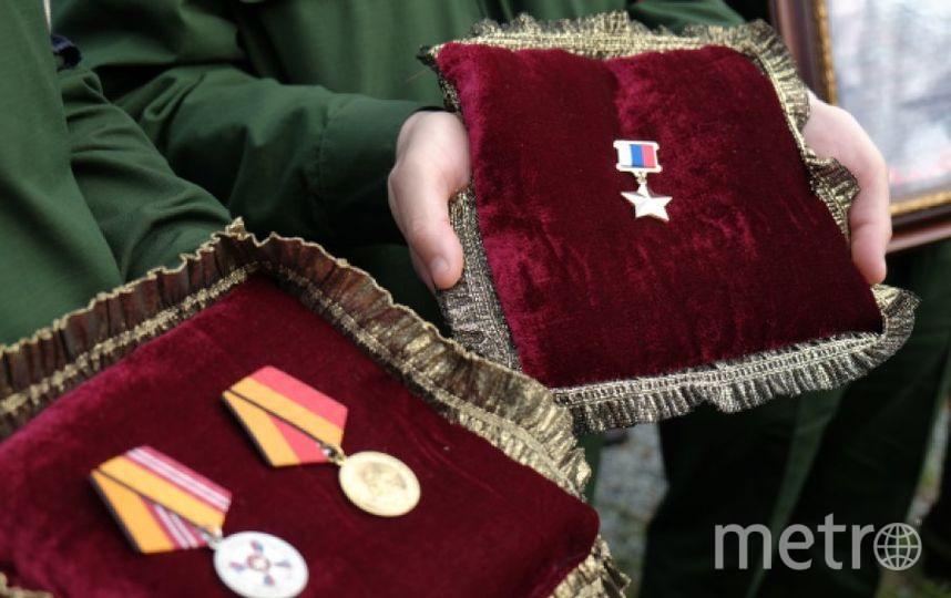 Награды Александра Прохоренко. Фото РИА Новости