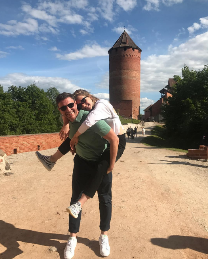 Максим Виторган и Ксения Собчак. Фото Instagram Максима Виторгана