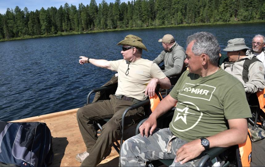 Поездка в Тыву, 1–3 августа. Фото http://www.kremlin.ru/events/president/news/55308/photos#