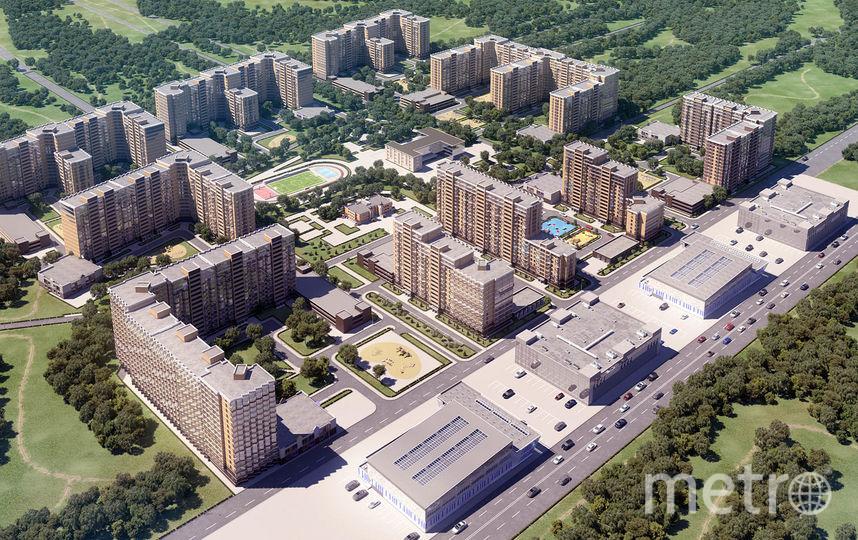 """ЖК """"Северный вальс"""" - масштабный комплекс СК """"Петрострой"""" во Всеволожске."""