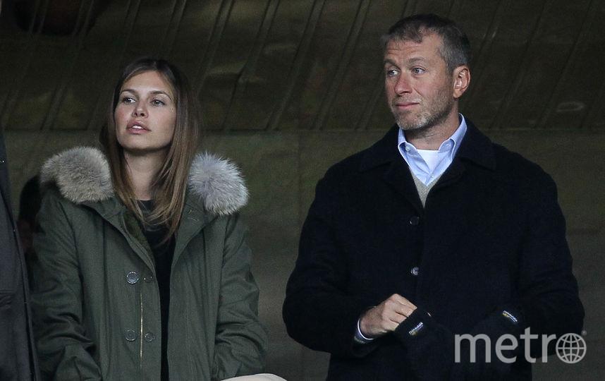 Абрамович и Жукова. Фото Getty