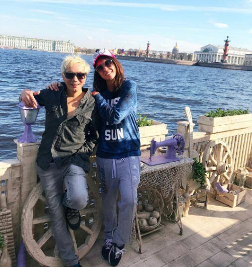 Олег Яковлев и Александра Куцевол. Фото Instagram Александры Куцевол