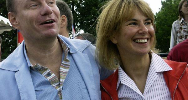 Владимир и Наталья Потанины.