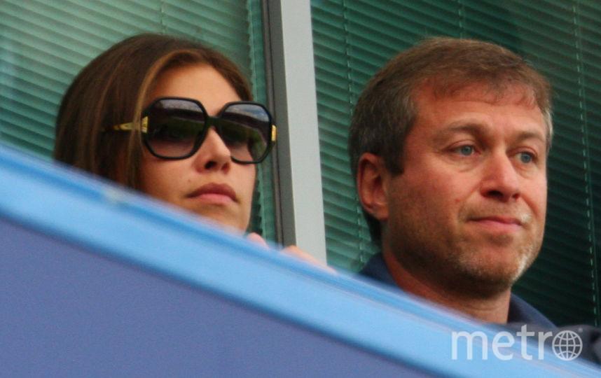 Роман Абрамович и Дарья Жукова. Фото Getty