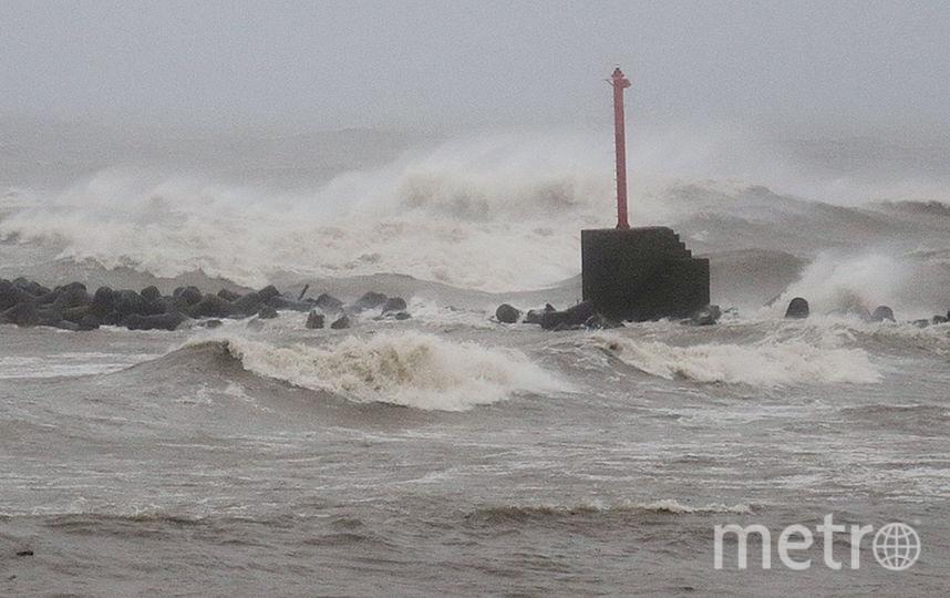 Тайфун в Японии. Фото AFP