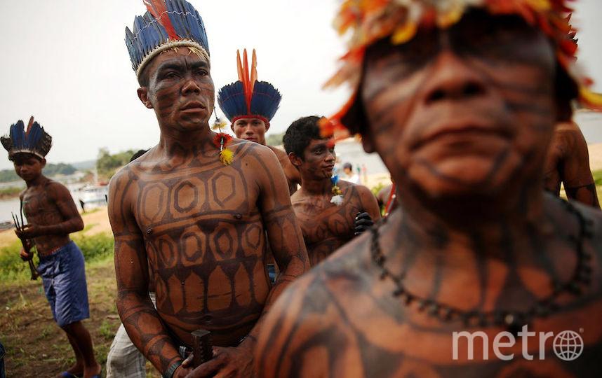 Представители племени мундуруку в Бразилии. Фото Getty