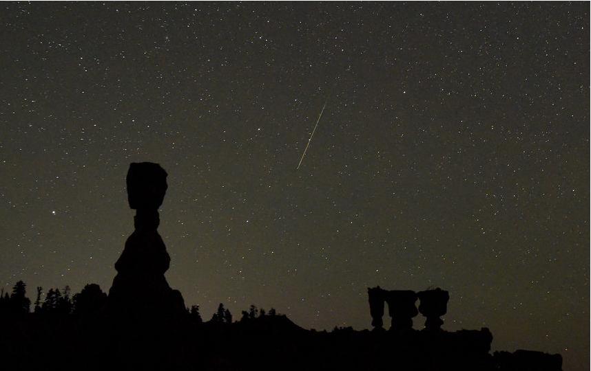 Вконце лета  уральцы увидят звёздный дождь Персеиды навечернем небе