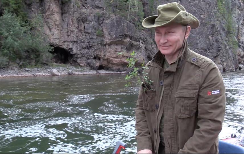 Путин в Сибири. Фото Kremlin.ru