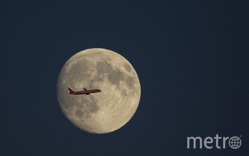 Полная луна. Фото Getty