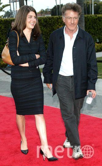 Дастин Хоффман с дочкой. Фото Getty