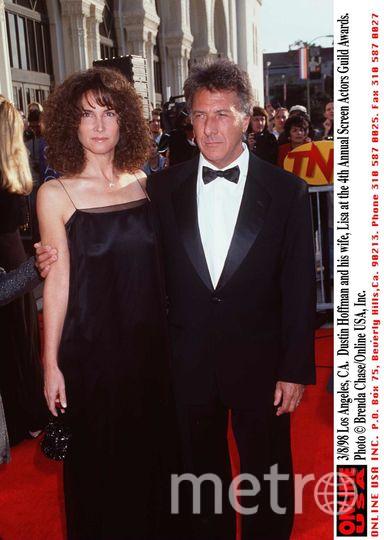 Дастин Хоффман с женой Лизой. Фото Getty
