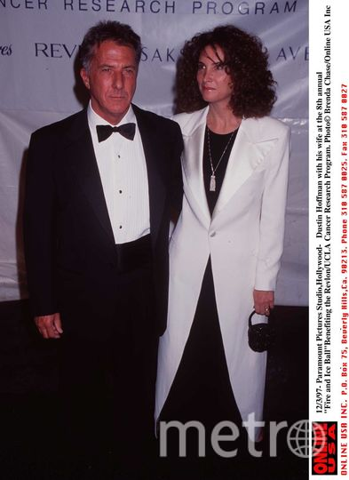 Дастин Хоффман. 1998 год - с женой Лизой. Фото Getty