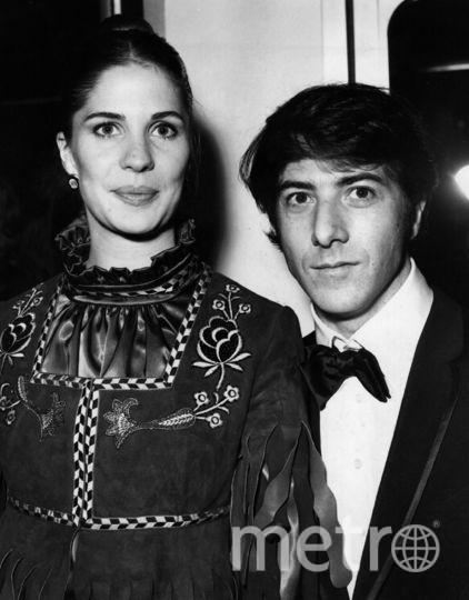Дастин Хоффман с первой женой - 1971 год. Фото Getty