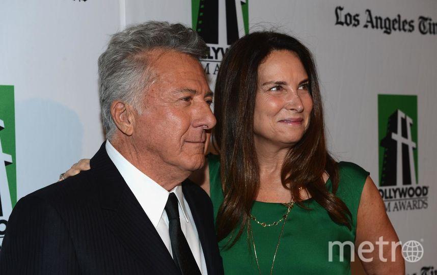 Дастин Хоффман с женой. Фото Getty