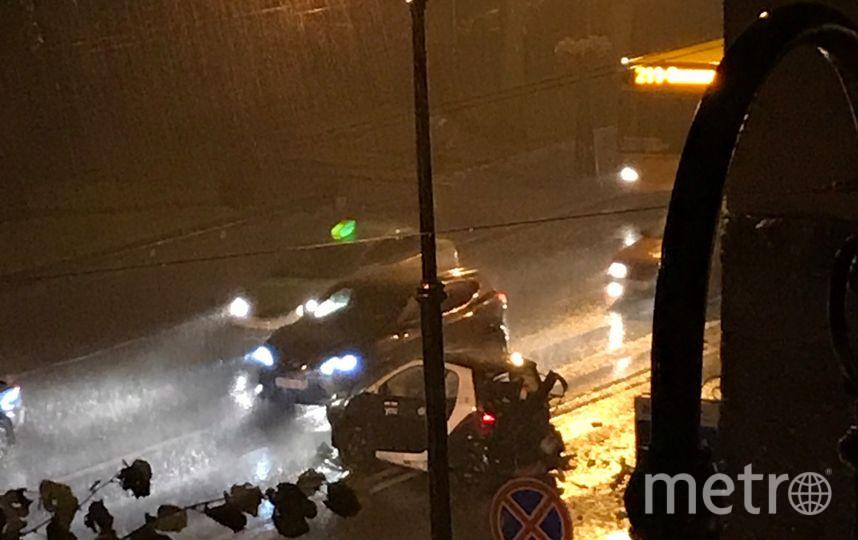 Видео смертельного ДТП в Петербурге оказалось в Сети. Фото «ДТП и ЧП | Санкт-Петербург», vk.com