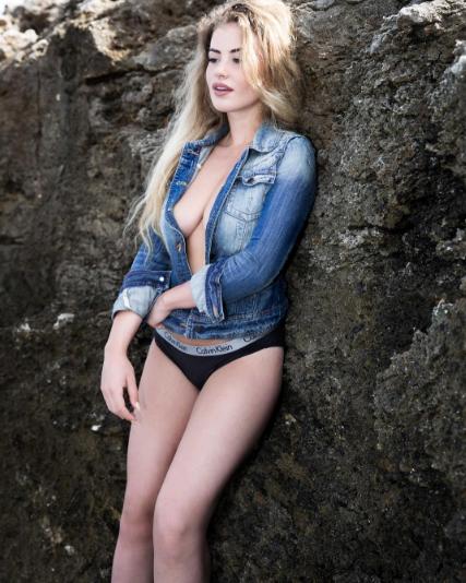 Бриатнская модель Хлое Эйлинг. Фото Instagram Хлое.