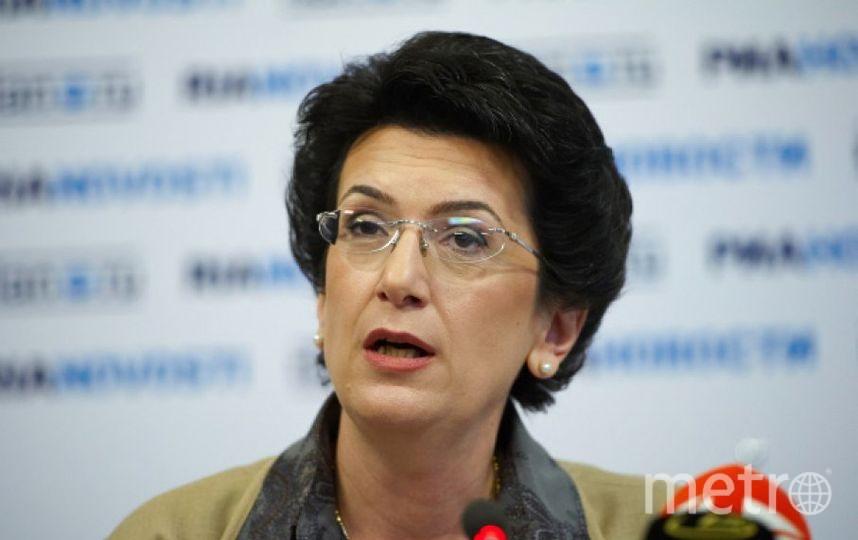 Нино Бурджанадзе. Фото РИА Новости