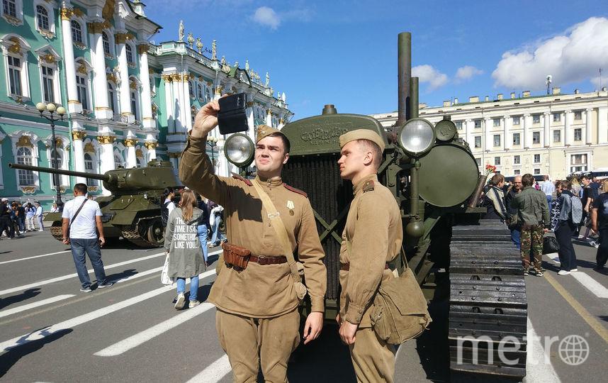 "Парад военной техниики. Фото Святослав Акимов, ""Metro"""
