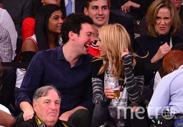 Майкл Хесс с Хайди Клум в 2014 году. Фото Getty