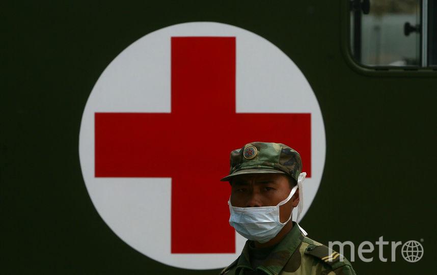 Китайский военный. Фото Getty