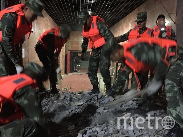 Землетрясение произошло в Китае. Фото Getty