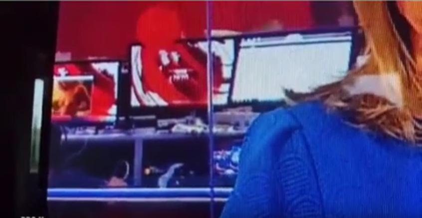 BBC случайно показал эротический ролик в выпуске новостей - Видео. Фото Скриншот Youtube
