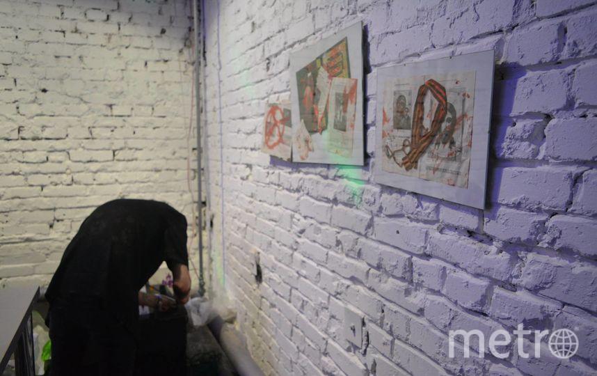 Одна из работ выставки. Фото Предоставлено Денисом Семёновым.