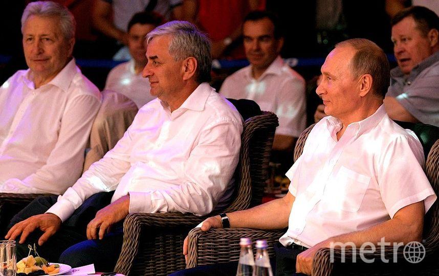 Путин на турнире самбо в Сочи. Фото kremlin.ru