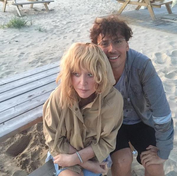 Максим Галкин с супругой Аллой Пугачёвой. Фото скриншот с официального блога Максима Галкина в Instagram