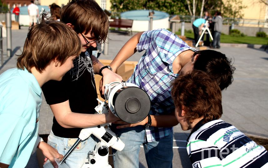 Занятия в астрономическом кружке начнутся с 20 августа. Фото пресс-служба московского планетария.