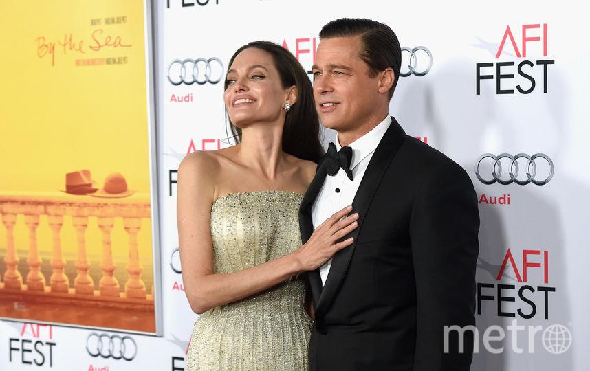 Анджелина Джоли и Бред Питт. Фото Getty