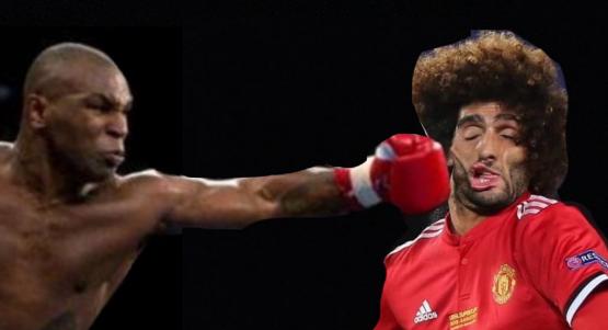 Выражение лица как после удара боксёра. Фото Instagram
