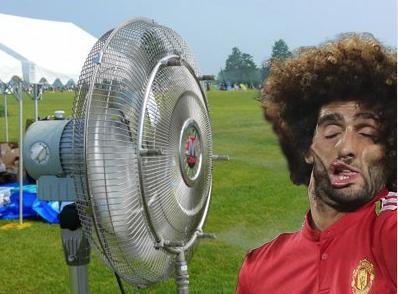 Некоторые решили, что в таком выражении лица мог быть виноват вентилятор. Фото instagram.com/dav_frau