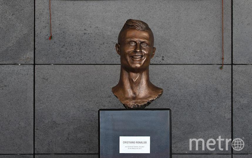 Тот самый памятник Роналду. Фото Getty