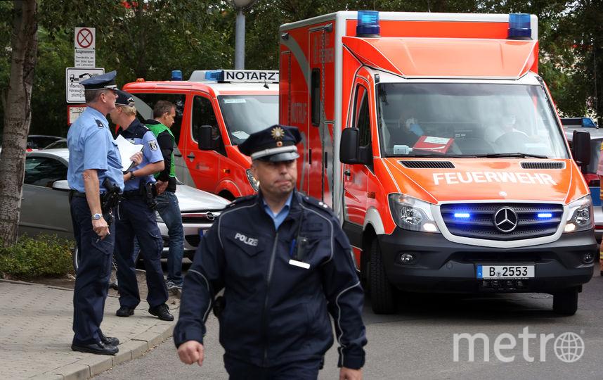 Экстренные службы Германии. Фото Getty