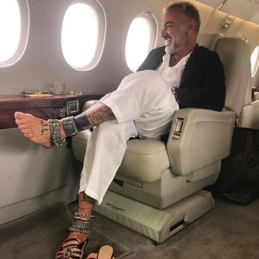 Танцующий миллионер Джанлука Вакки. Фото Instagram Вакки.