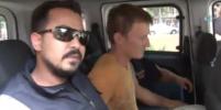 Опубликовано видео с задержанным россиянином в Турции