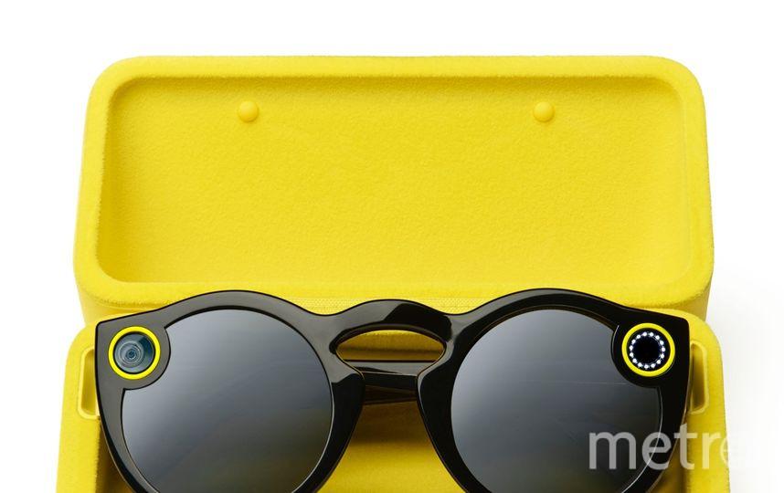 Очки с встроенной камерой. Фото Spectacles.