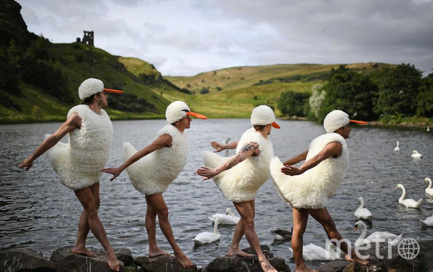 Фестиваль в Эдинбурге. Фото Getty