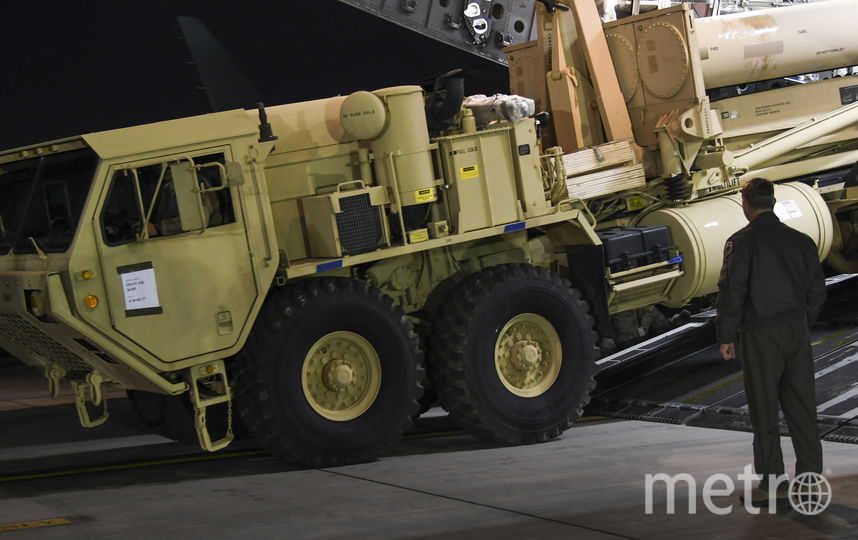 Подвижная пусковая установка THAAD. Фото Getty