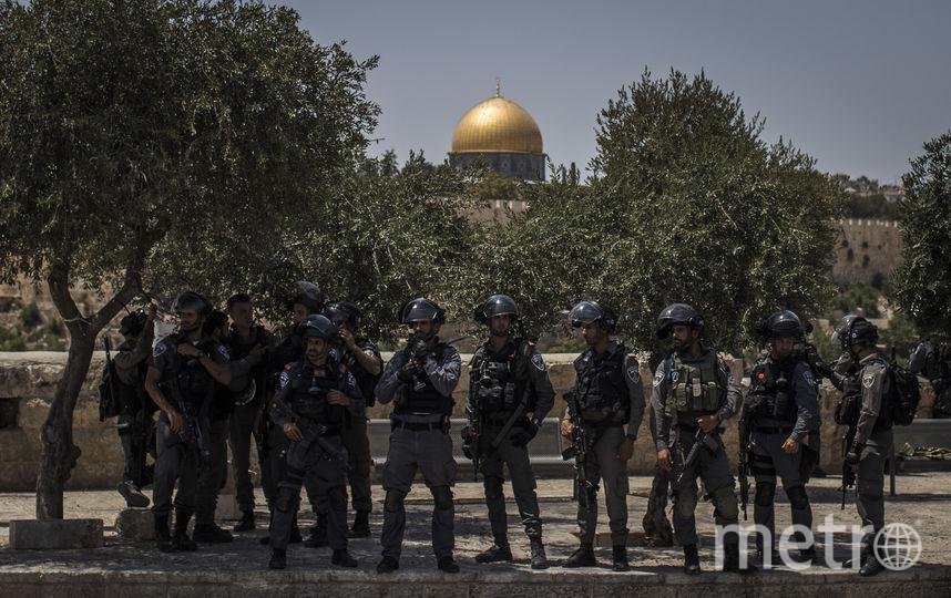 Полиция в Иерусалиме. Фото Getty
