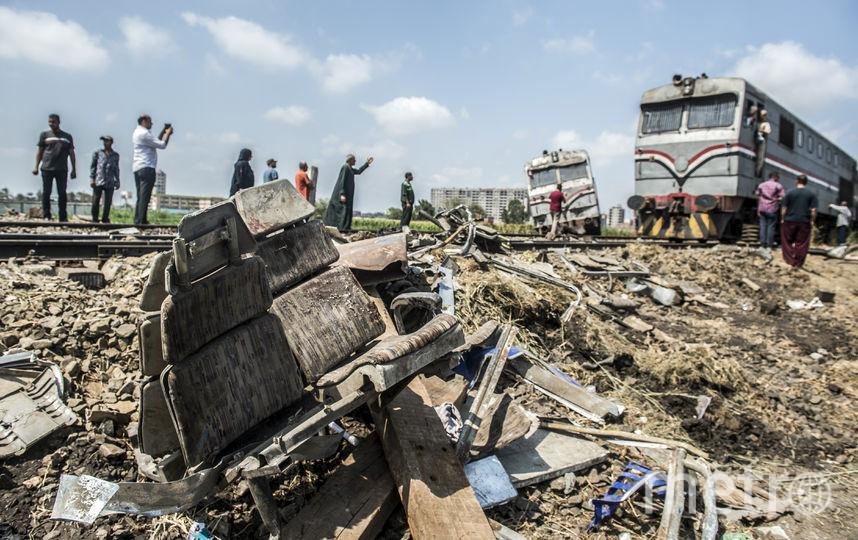 Фото с места аварии. Фото AFP