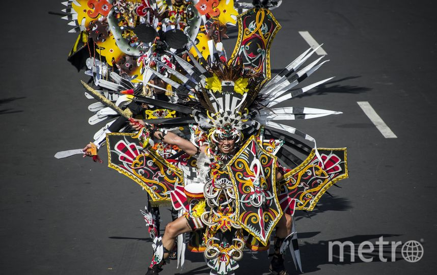 Jember Fashion Carnival. Фото AFP