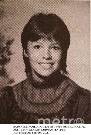 Памела Андерсон в молодости. Фото Getty