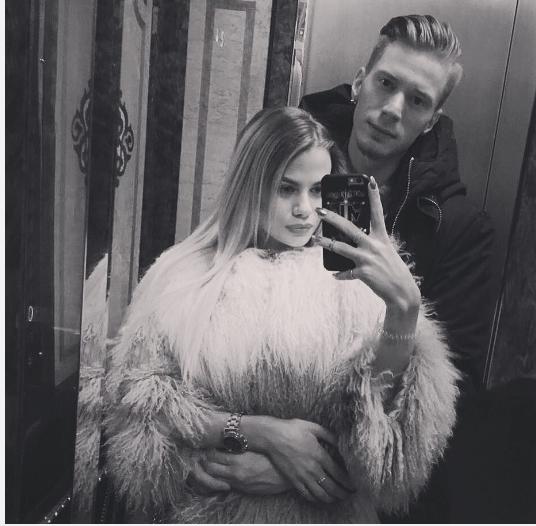 Никита Пресняков и его жена Алёна. Фото Скриншот из Insatgram.