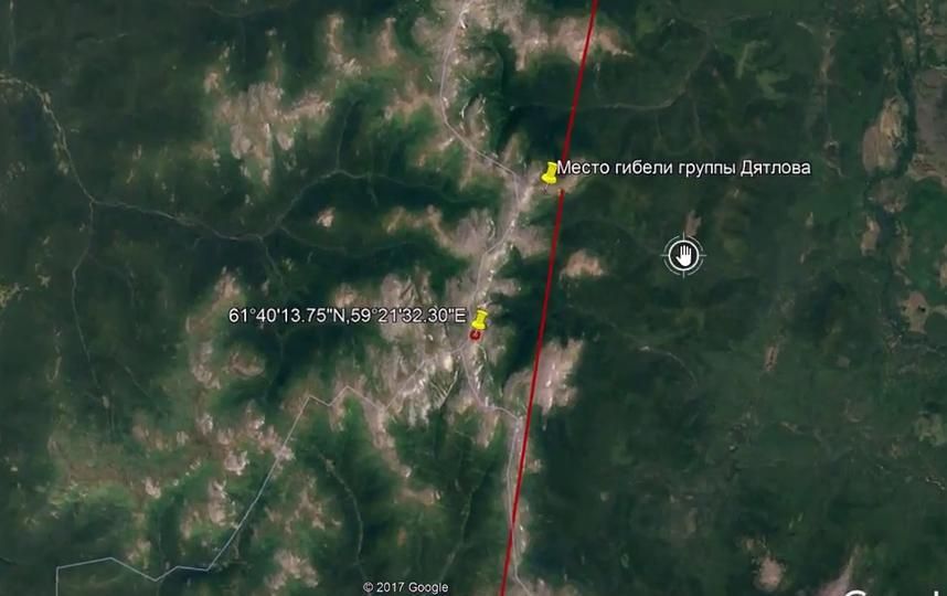 Таинственный бункер и место гибели лыжников на перевале Дятлова. Фото Скриншот Youtube