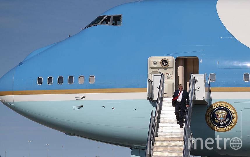 Самолёт Трампа. Фото Getty