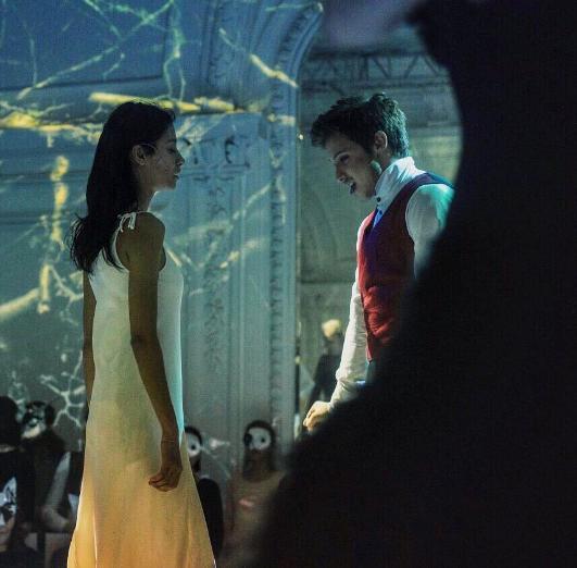 Равшана Куркова со Станиславом Румянцевым на сцене. Фото Instagram Станислава